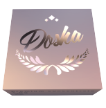 Concentrate Packaging Cardstock Box Metallic Foil Stamping