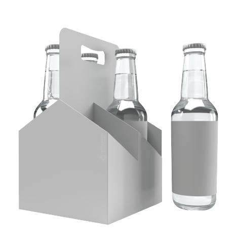 Promotional Material Custom Beverage Carriers